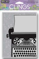 Hero Arts - Cling Rubber Stamp - Big Typewriter