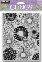 Hero Arts - Cling Rubber Stamp - Everything Flowers