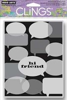 Hero Arts - Cling Rubber Stamp - Hi Friend
