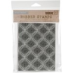 Hero Arts - Cling Rubber Stamp - Basic Grey Dotted Grid
