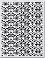 Hero Arts - Cling Rubber Stamp - Basic Grey Amore Background