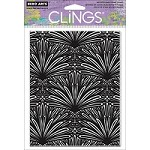 Hero Arts - Cling Stamp - Basic Grey Tropical Background