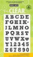 Hero Arts - Clear Stamp - Sketchbook Letters