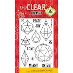 Hero Arts - Clear Stamp - Christmas Crystals