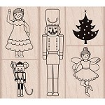 Hero Arts - Wood Mounted Rubber Stamp - Nutcracker