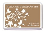 Hero Arts - Shadow Ink - Mid-Tone -  Dye Pad - Cup O' Joe