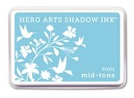 Hero Arts - Shadow Ink - Mid-Tone -  Dye Pad - Pool