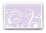 Hero Arts - Shadow Ink - Mid-Tone -  Dye Pad - Soft Purple