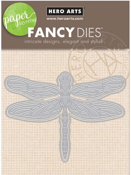 Hero Arts - Fancy Die - Dragonfly