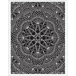 Hero Arts - Cling Stamp - Doily Pattern Background