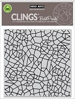 Hero Arts - Cling Rubber Stamp - Irregular Grid Bold Prints