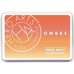 Hero Arts - Ombre Dye Ink Pad - Butter to Orange Ombre