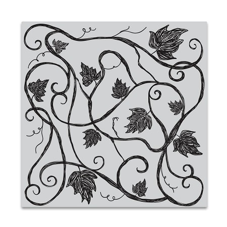 Hero Arts - Cling Rubber Stamp - Vine Pattern Bold Prints