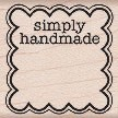 Hero Arts - Wood Mounted Rubber Stamp - Simply Handmade