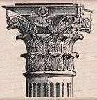 Hero Arts-Wood Mounted Rubber Stamp-Corinthian Column