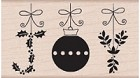 Hero Arts-Wood Mounted Rubber Stamp-JOY Ornaments