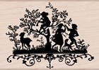 Hero Arts - Wood Mounted Rubber Stamp - Spring Dream