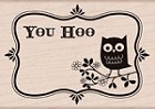 Hero Arts - Wood Mounted Rubber Stamp - You Hoo