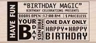 Hero Arts - Wood Mounted Rubber Stamp - Birthday Magic