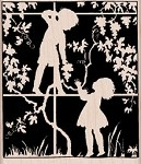 Hero Arts-Wood Mounted Rubber Stamp-In The Garden