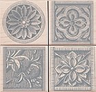 Hero Arts-Wood Mounted Rubber Stamp-Stone Etchings