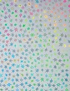 Hot off the Press - 8 1/2x11 Holographic Paper - Silver Stars