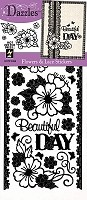 Hot off the Press - Dazzles Stickers - Flowers & Lace