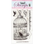Hot Off The Press - Clear Stamps - Bird in Cage (2