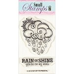 Hot Off The Press - Clear Stamps - Cloud & Raindrops (2
