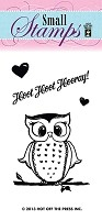 Hot Off The Press - Mini Clear Stamps - Hoot Hoot