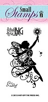 Hot Off The Press - Mini Clear Stamps - Fairy