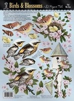 Hot off the Press - Foil 3D Papier Tole - Birds and Blossoms