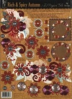 Hot off the Press - Foil 3D Papier Tole - Rich & Spicy Autumn