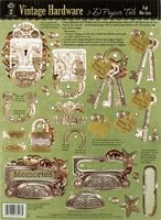 Hot off the Press - Foil 3D Papier Tole - Vintage Hardware