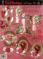 Hot off the Press - Foil 3D Papier Tole - Floral Boutique