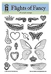 Hot off the Press-Clear Stamps-Flights of Fancy