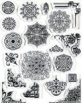Hot off the Press-Clear Stamps-Medallions & Corners