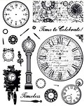 Hot off the Press-Clear Stamps-Timeless