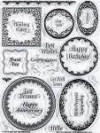 Hot off the Press-Clear Stamps-Stamp and Punch