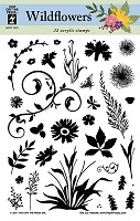 Hot off the Press - Clear Stamps - Wildflowers