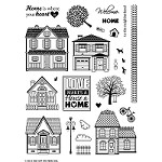 "Hot Off The Press - Clear Stamps - Welcome Home (6""x8"")"