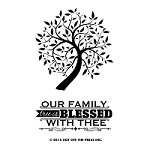 Hot Off The Press - Clear Stamps - Small Family Tree (2