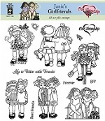Hot off the Press - Clear Stamps - Janie's Girlfriends