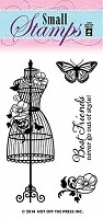 Hot off the Press - Mini Clear Stamp - Dressform