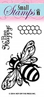 Hot off the Press - Mini Clear Stamp - Bee Happy
