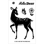 Hot Off The Press - Clear Stamps - Small Deer (2