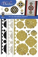Hot Off The Press - Dazzles Stickers - Mix Ems - Medallions
