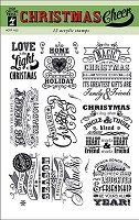 Hot off the Press - Clear Stamps - Christmas Cheer