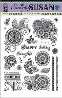 Hot off the Press - Clear Stamps -Simply Susan