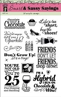 Hot off the Press - Clear Stamps - Smart & Sassy Sayings